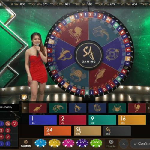วงล้อมหาโชค Money Wheel เกมหมุนตัวเลขพารวย