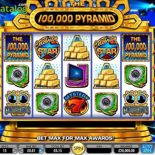 รีวิวสล็อต 50, 000 PYRAMIDS